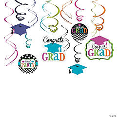 Dream Big Graduation Hanging Swirls