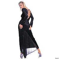 Dress Gothic Velvet Adult Women's Costume