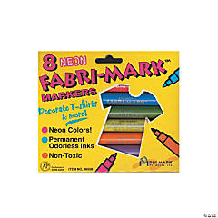 Drimark Fabri-Mark Markers Neon Assortment