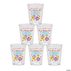 Drink Recipe Disposable Shot Glasses