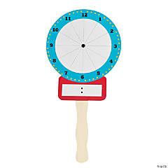 Dry Erase Clock