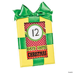 Dry Erase Countdown to Christmas Frame Idea