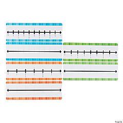 Dry Erase Fraction Number Lines