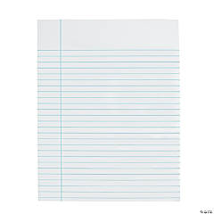 Dry Erase Notebook Paper