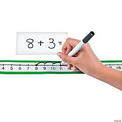 Dry Erase Number Line Sheets