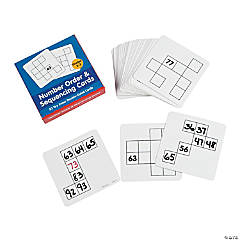 Dry Erase Number Order & Sequencing Cards