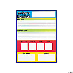 Dry Erase Today's Number Card Set