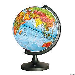 Dual Cartography LED Illuminated Globe, 11
