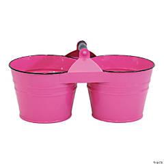 Dual Metal Bucket 6