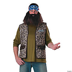 Duck Dynasty Willie Costume For Adults