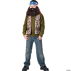 Duck Dynasty Willie Costume for Boys