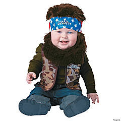Duck Dynasty Willie Costume for Toddler Boys
