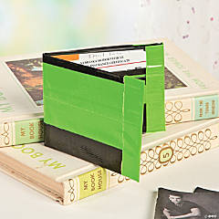 Duck Tape® Black & Green Wallet Idea