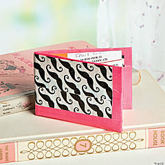 Duck Tape® Black Moustache Wallet Idea