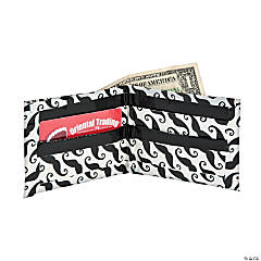 Duck Tape® Pink Moustache Wallet Idea