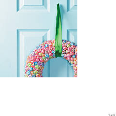 Dum Dum Pop Wreath Idea