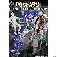 Dummy With Posable Hands And Arms