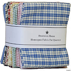 Dunroven House Fat Quarters 12Pcs-White & Cream