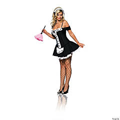 Dust Bunny French Maid Costume for Women