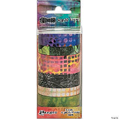 Dyan Reaveley'S Dylusions Washi Tape Set-Set #3-7 Rolls