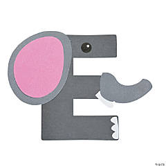 """E Is For Elephant"" Letter E Craft Kit"