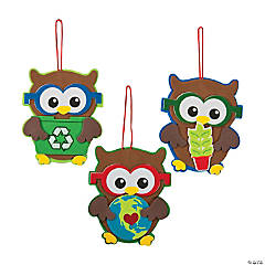 Earth Day Owl Ornament Craft Kit