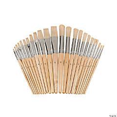 Easel Paint Brush Set