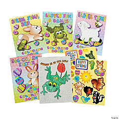 Easter Activity Booklets with Stickers