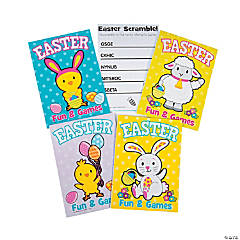 Easter Activity Books with Stickers
