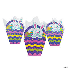 Easter Basket-Shaped Gift Bags