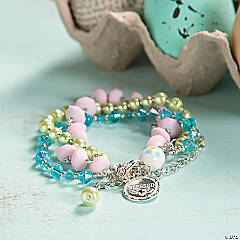 Easter Beaded Bracelet Idea