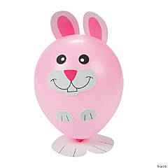 Easter Bunny Balloon Craft Kit