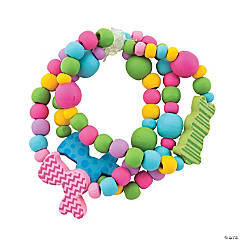 Easter Bunny Beaded Bracelet Craft Kit