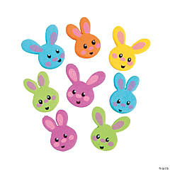 Easter Bunny Beads - 24mm