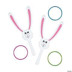 Easter Bunny Catcher Ring Toss Game
