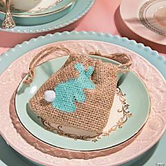 Easter Bunny DIY Burlap Bags
