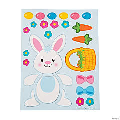 Easter Bunny Magnet Sheet
