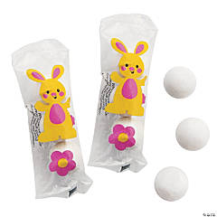 Easter Bunny Printed Gumball Tubes