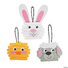 Easter Character Craft Stick Ornament Craft Kit