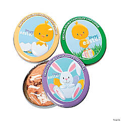 Easter Cookie Tins