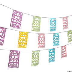Easter Cutout Plastic Pennant Banner