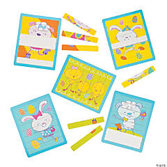Easter Double-Sided Stick Puzzles