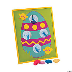 Easter Egg Bean Bag Toss Game