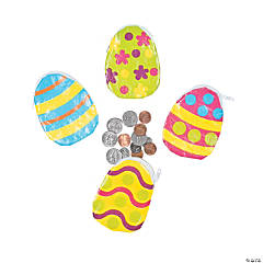Easter Egg Coin Purses
