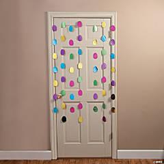 Easter Egg Foil Door Curtain