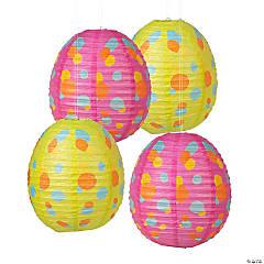 Easter Egg Hanging Paper Lanterns
