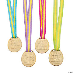 Easter Egg Hunt Award Medals