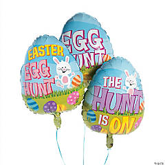Easter Egg Hunt Mylar Balloons