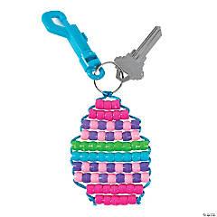 Easter Egg Key Chain Craft Kit