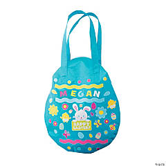 Easter Egg Laminated Tote Bag Craft Kit